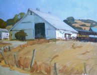 White dairy barn 20x24 thumb